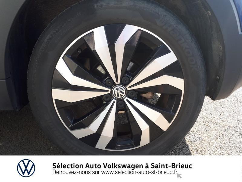 Volkswagen T-cross 1.0 TSI 115ch Carat DSG7 Bleu occasion à Saint Brieuc - photo n°16