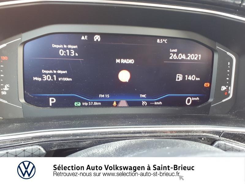 Volkswagen T-cross 1.0 TSI 115ch Carat DSG7 Bleu occasion à Saint Brieuc - photo n°9