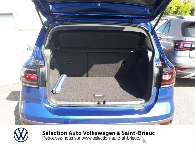 Volkswagen T-cross 1.0 TSI 115ch Carat DSG7 Bleu occasion à Saint Brieuc - photo n°12