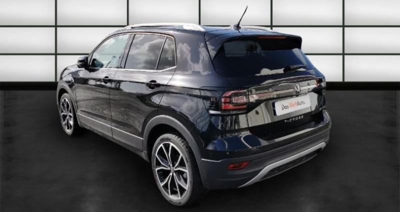 Volkswagen T-cross 1.0 TSI 115ch Carat Noir occasion à La Rochelle - photo n°5