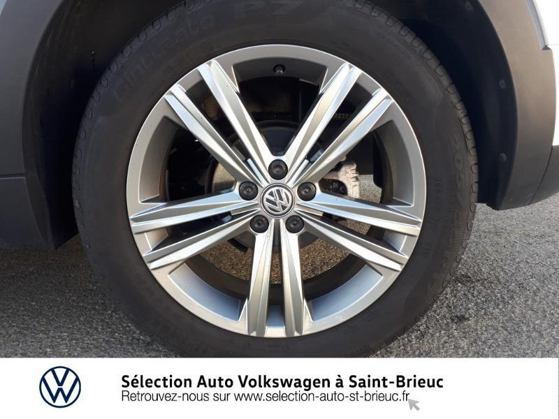 Volkswagen T-cross 1.0 TSI 115ch R-Line DSG7 Blanc occasion à Saint Brieuc - photo n°13