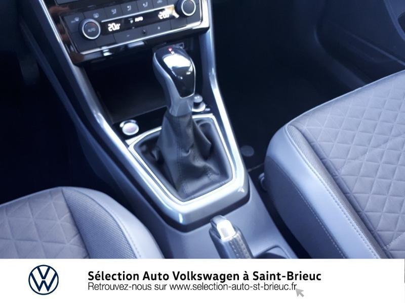 Volkswagen T-cross 1.0 TSI 115ch R-Line DSG7 Blanc occasion à Saint Brieuc - photo n°10