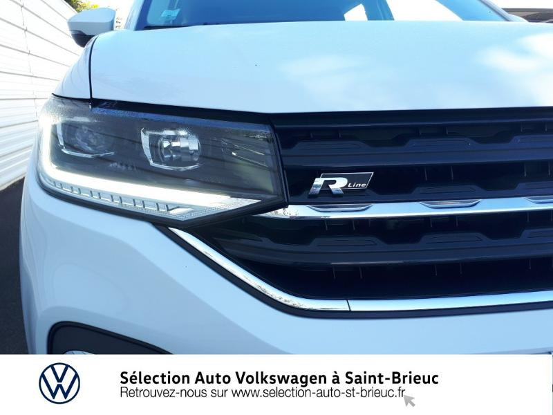 Volkswagen T-cross 1.0 TSI 115ch R-Line DSG7 Blanc occasion à Saint Brieuc - photo n°17