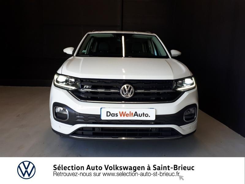 Volkswagen T-cross 1.0 TSI 115ch R-Line DSG7 Blanc occasion à Saint Brieuc - photo n°5