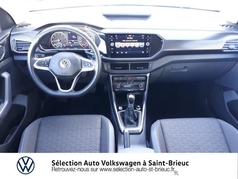 Volkswagen T-cross 1.0 TSI 115ch R-Line DSG7 Blanc occasion à Saint Brieuc - photo n°6