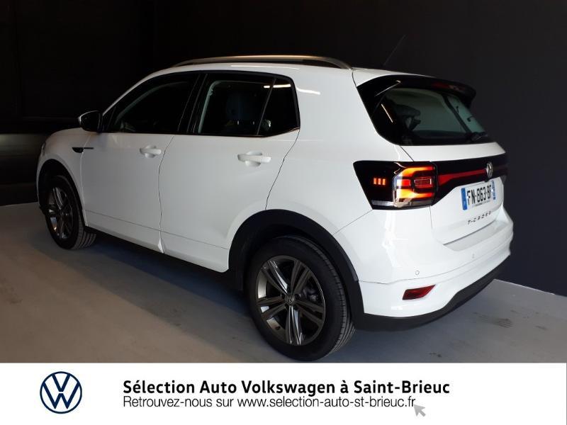 Volkswagen T-cross 1.0 TSI 115ch R-Line DSG7 Blanc occasion à Saint Brieuc - photo n°3