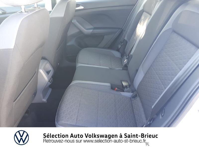 Volkswagen T-cross 1.0 TSI 115ch R-Line DSG7 Blanc occasion à Saint Brieuc - photo n°11