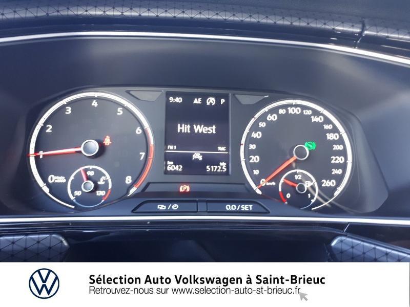 Volkswagen T-cross 1.0 TSI 115ch R-Line DSG7 Blanc occasion à Saint Brieuc - photo n°9