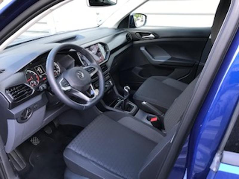 Volkswagen T-cross 1.0 TSI 95ch Lounge Bleu occasion à LESCAR - photo n°2