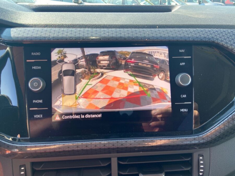 Volkswagen T-cross 1.5 TSI 150 DSG7 R-LINE JA 18 GPS Caméra ADML Blanc occasion à Cahors - photo n°20