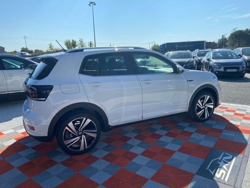 Volkswagen T-cross 1.5 TSI 150 DSG7 R-LINE JA 18 GPS Caméra ADML Blanc occasion à Cahors - photo n°2