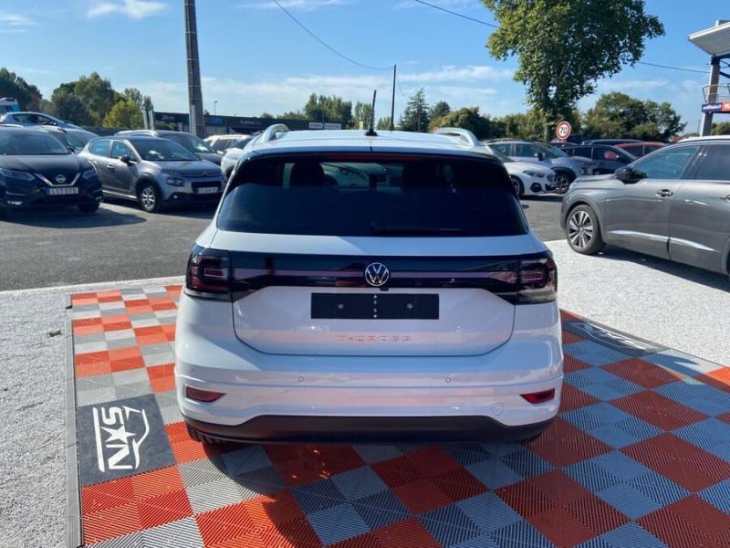 Volkswagen T-cross 1.5 TSI 150 DSG7 R-LINE JA 18 GPS Caméra ADML Blanc occasion à Cahors - photo n°6