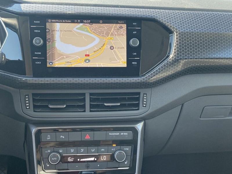 Volkswagen T-cross 1.5 TSI 150 DSG7 R-LINE JA 18 GPS Caméra ADML Blanc occasion à Cahors - photo n°14