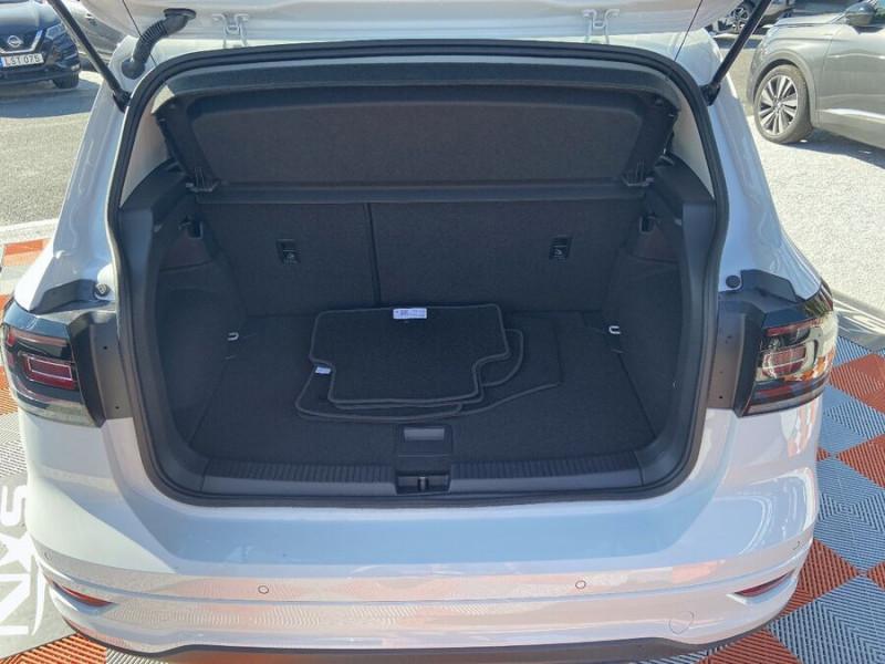 Volkswagen T-cross 1.5 TSI 150 DSG7 R-LINE JA 18 GPS Caméra ADML Blanc occasion à Cahors - photo n°7