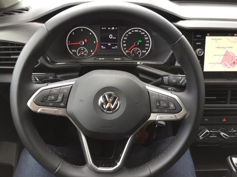 Volkswagen T-cross 1.6 TDI 95ch Lounge Business DSG7 Blanc occasion à Mende - photo n°7