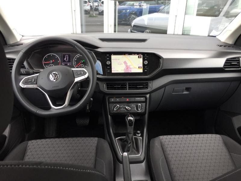 Volkswagen T-cross 1.6 TDI 95ch Lounge Business DSG7 Blanc occasion à Mende - photo n°5