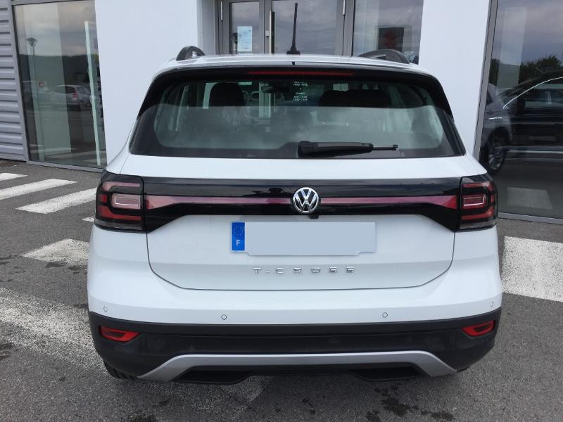 Volkswagen T-cross 1.6 TDI 95ch Lounge Business DSG7 Blanc occasion à Mende - photo n°4