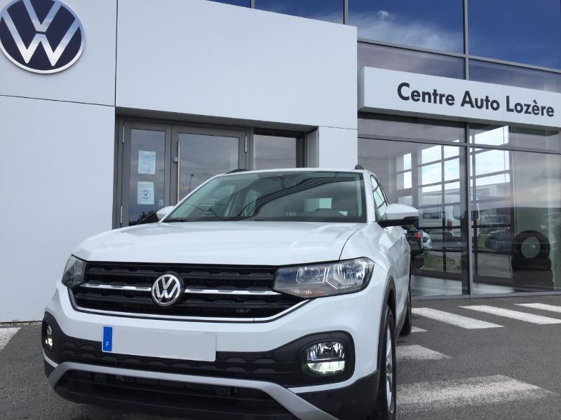 Volkswagen T-cross 1.6 TDI 95ch Lounge Business DSG7 Blanc occasion à Mende