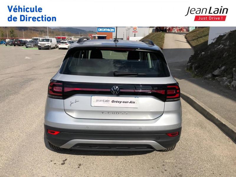 Volkswagen T-cross T-Cross 1.0 TSI 110 Start/Stop BVM6 Active 5p Argent occasion à Grésy-sur-Aix - photo n°6