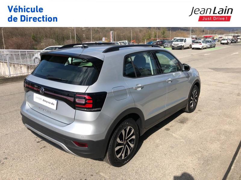 Volkswagen T-cross T-Cross 1.0 TSI 110 Start/Stop BVM6 Active 5p Argent occasion à Grésy-sur-Aix - photo n°5
