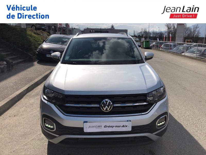 Volkswagen T-cross T-Cross 1.0 TSI 110 Start/Stop BVM6 Active 5p Argent occasion à Grésy-sur-Aix - photo n°2