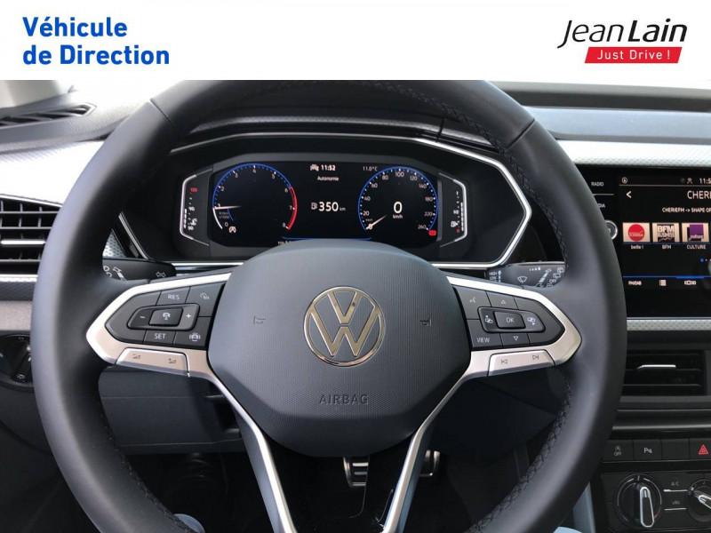 Volkswagen T-cross T-Cross 1.0 TSI 110 Start/Stop BVM6 Active 5p Argent occasion à Grésy-sur-Aix - photo n°12