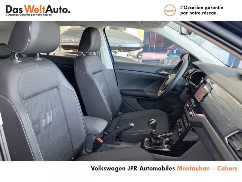 Volkswagen T-cross T-Cross 1.0 TSI 110 Start/Stop BVM6 Carat 5p  occasion à Cahors - photo n°6