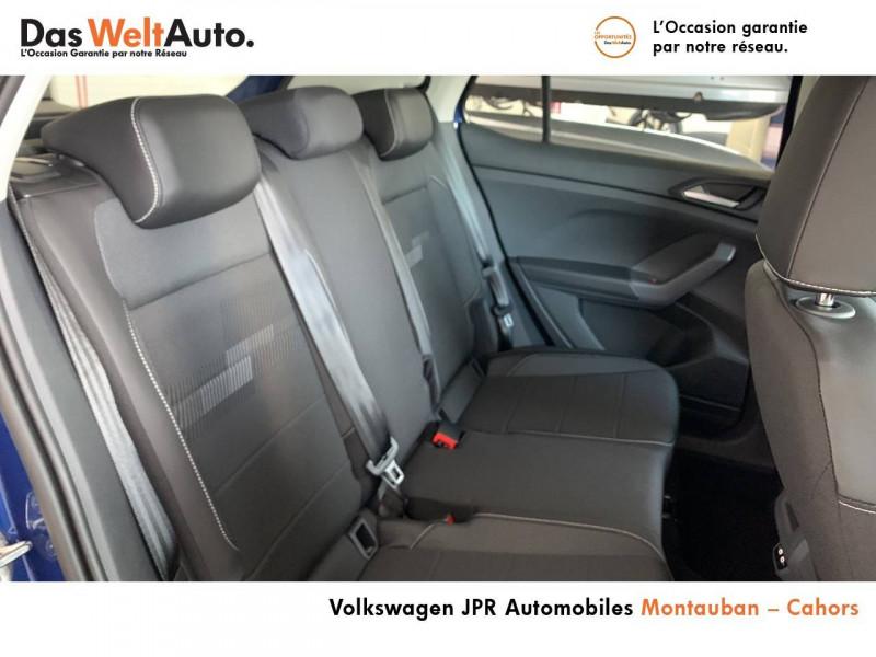 Volkswagen T-cross T-Cross 1.0 TSI 110 Start/Stop BVM6 Carat 5p  occasion à Cahors - photo n°7