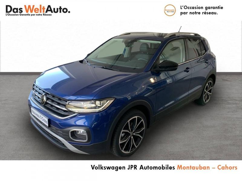 Volkswagen T-cross T-Cross 1.0 TSI 110 Start/Stop BVM6 Carat 5p  occasion à Cahors