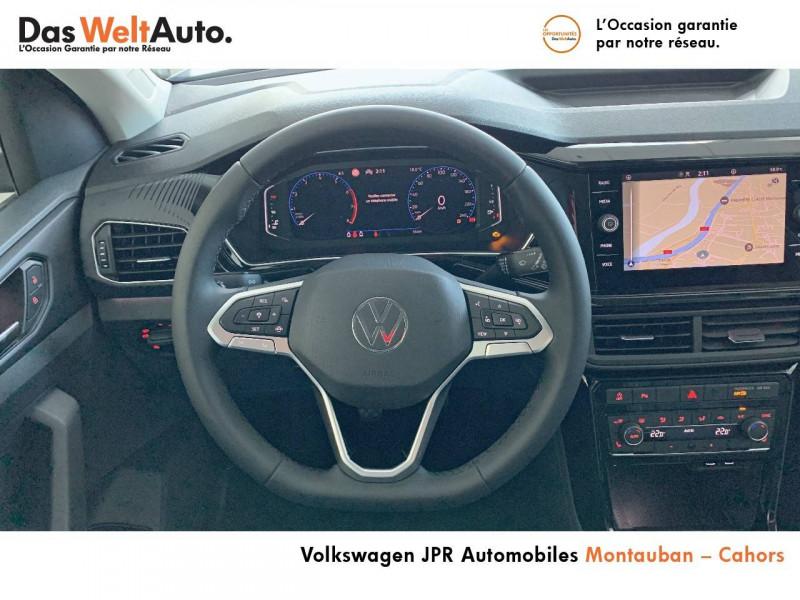 Volkswagen T-cross T-Cross 1.0 TSI 110 Start/Stop BVM6 Carat 5p  occasion à Cahors - photo n°10