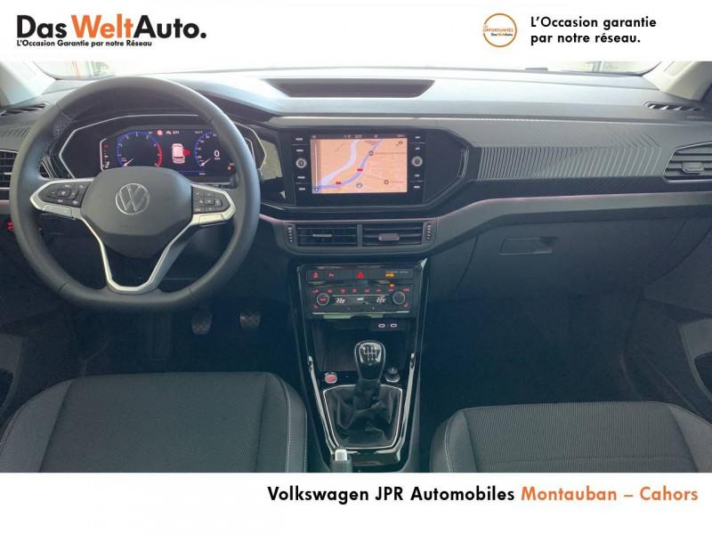Volkswagen T-cross T-Cross 1.0 TSI 110 Start/Stop BVM6 Carat 5p  occasion à Cahors - photo n°5
