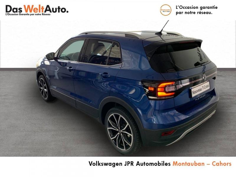 Volkswagen T-cross T-Cross 1.0 TSI 110 Start/Stop BVM6 Carat 5p  occasion à montauban - photo n°4