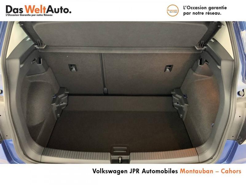 Volkswagen T-cross T-Cross 1.0 TSI 110 Start/Stop BVM6 Carat 5p  occasion à montauban - photo n°11