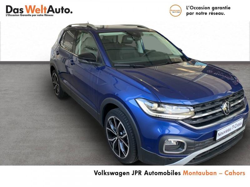Volkswagen T-cross T-Cross 1.0 TSI 110 Start/Stop BVM6 Carat 5p  occasion à montauban - photo n°3