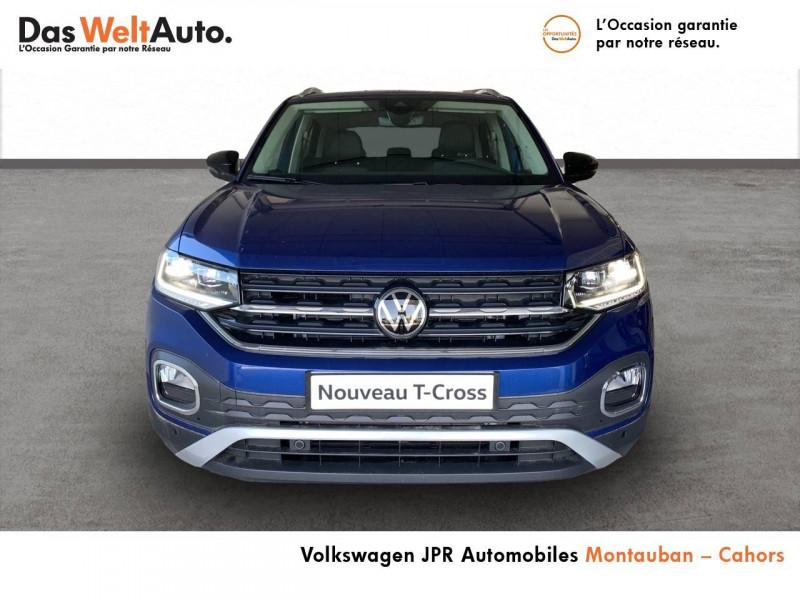 Volkswagen T-cross T-Cross 1.0 TSI 110 Start/Stop BVM6 Carat 5p  occasion à montauban - photo n°2