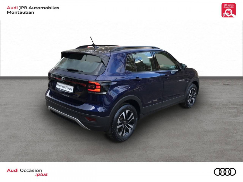 Volkswagen T-cross T-Cross 1.0 TSI 110 Start/Stop BVM6 United 5p  occasion à montauban - photo n°3