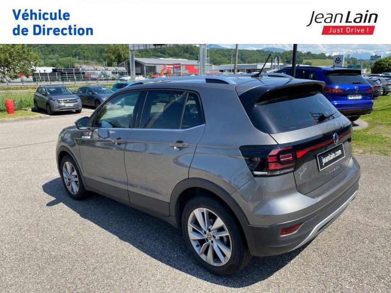 Volkswagen T-cross T-Cross 1.0 TSI 110 Start/Stop DSG7 Carat 5p Gris occasion à La Motte-Servolex - photo n°7