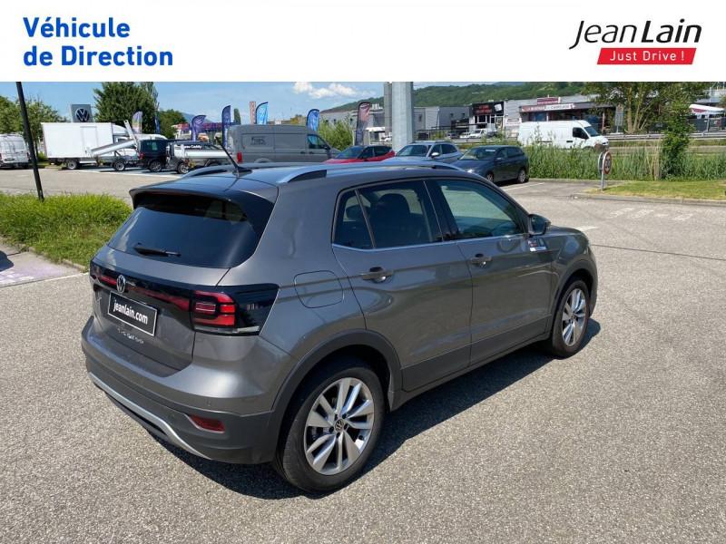 Volkswagen T-cross T-Cross 1.0 TSI 110 Start/Stop DSG7 Carat 5p Gris occasion à La Motte-Servolex - photo n°5