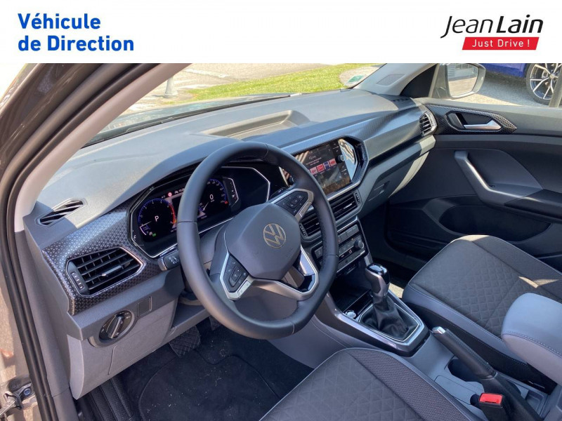 Volkswagen T-cross T-Cross 1.0 TSI 110 Start/Stop DSG7 Carat 5p Gris occasion à La Motte-Servolex - photo n°11