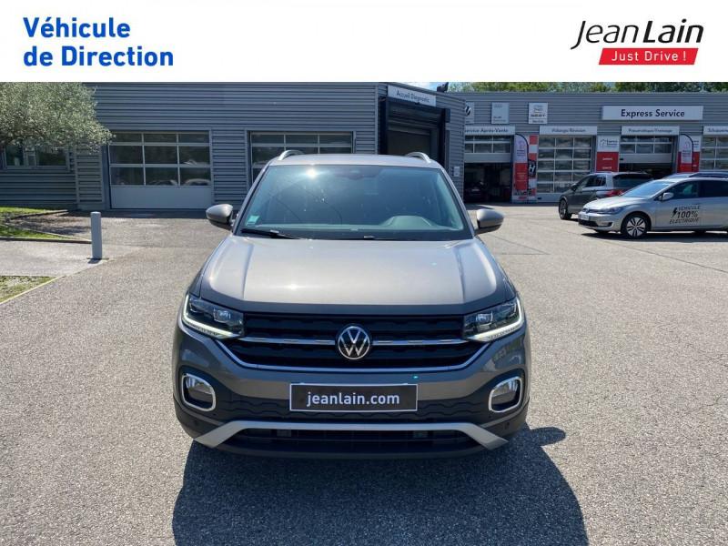 Volkswagen T-cross T-Cross 1.0 TSI 110 Start/Stop DSG7 Carat 5p Gris occasion à La Motte-Servolex - photo n°2