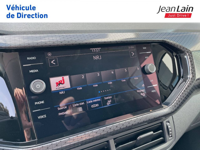 Volkswagen T-cross T-Cross 1.0 TSI 110 Start/Stop DSG7 R-Line 5p Argent occasion à Cessy - photo n°16