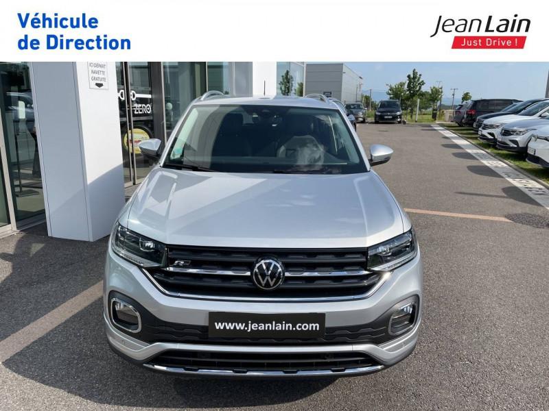 Volkswagen T-cross T-Cross 1.0 TSI 110 Start/Stop DSG7 R-Line 5p Argent occasion à Cessy - photo n°2