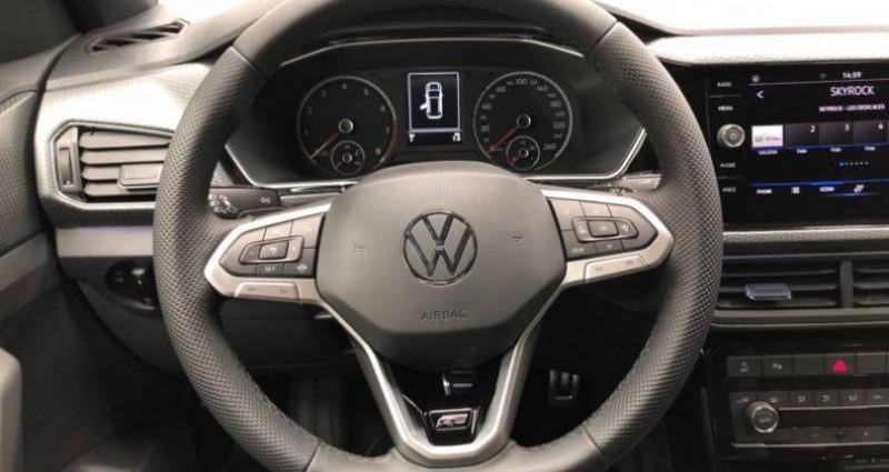 Volkswagen T-cross t cross 1.0 TSI 110 Start/Stop DSG7 R LINE Gris occasion à AHUY - photo n°5