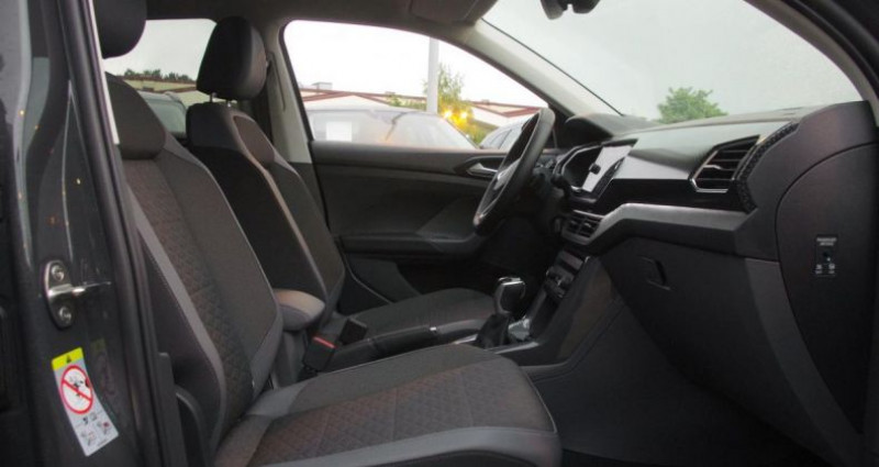 Volkswagen T-cross t cross 1.0 TSI 110 STYLE DSG Gris occasion à Chambourcy - photo n°3