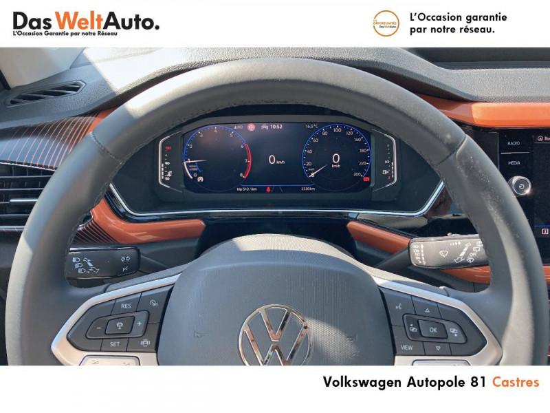 Volkswagen T-cross T-Cross 1.0 TSI 115 Start/Stop BVM6 Carat 5p Argent occasion à Castres - photo n°10