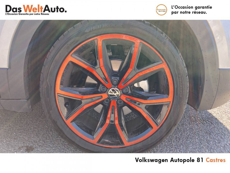 Volkswagen T-cross T-Cross 1.0 TSI 115 Start/Stop BVM6 Carat 5p Argent occasion à Castres - photo n°9
