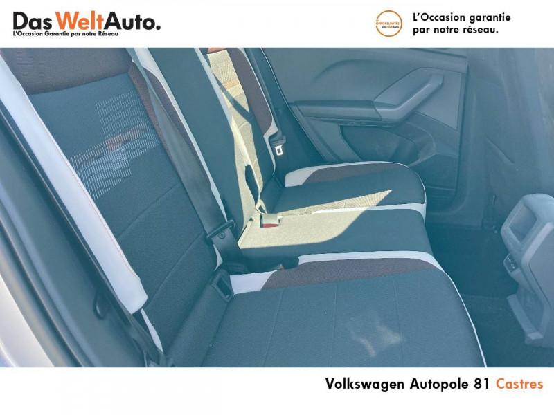 Volkswagen T-cross T-Cross 1.0 TSI 115 Start/Stop BVM6 Carat 5p Argent occasion à Castres - photo n°7