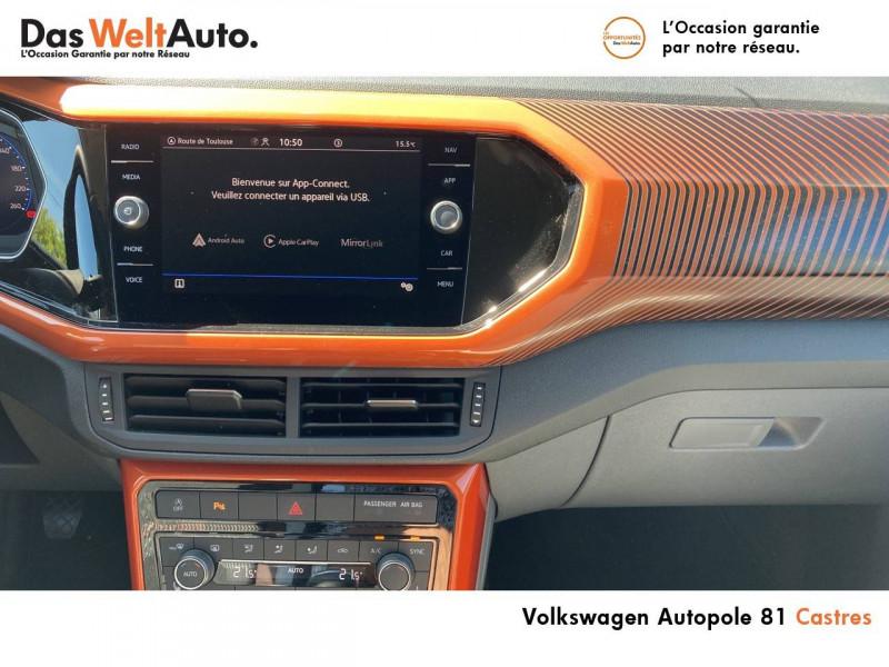 Volkswagen T-cross T-Cross 1.0 TSI 115 Start/Stop BVM6 Carat 5p Argent occasion à Castres - photo n°8