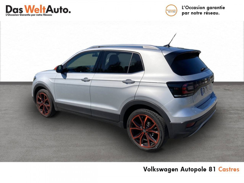 Volkswagen T-cross T-Cross 1.0 TSI 115 Start/Stop BVM6 Carat 5p Argent occasion à Castres - photo n°4
