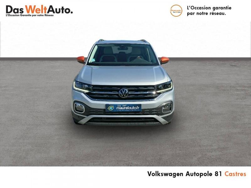 Volkswagen T-cross T-Cross 1.0 TSI 115 Start/Stop BVM6 Carat 5p Argent occasion à Castres - photo n°2